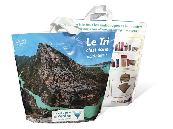 Des sacs L&M « made in France » de la Communauté de Communes Lacs et Gorges du Verdon (83)