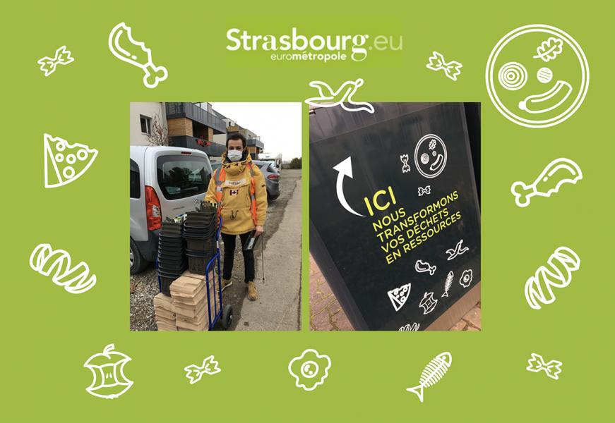 Collecte des biodechets Strasbourg